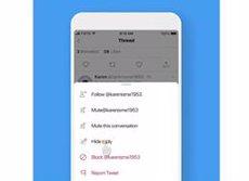 Twitter prova l'opció de silenciar determinades respostes a les seves publicacions (TWITTER)