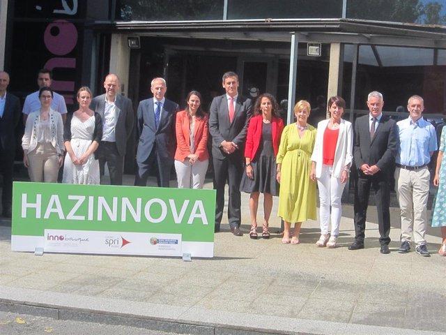 Presentación en la sede de Innobasque del programa Hazinnova del Gobierno Vasco