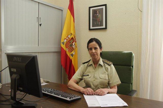 Patricia Ortega, la primera coronel del Ejército de Tierra.
