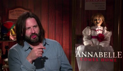 """Gary Dauberman: """"Dirigir Annabelle vuelve a casa ha sido una satisfacción creativa"""""""