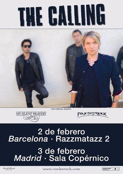 The Calling anuncian conciertos en Barcelona y Madrid