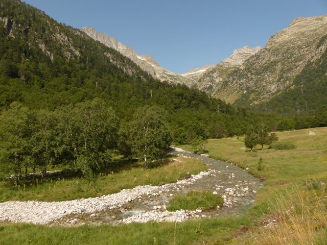 El río Noguera Ribagorçana