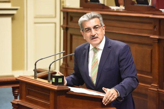 El portavoz de Nueva Canarias, en el debate de investidura