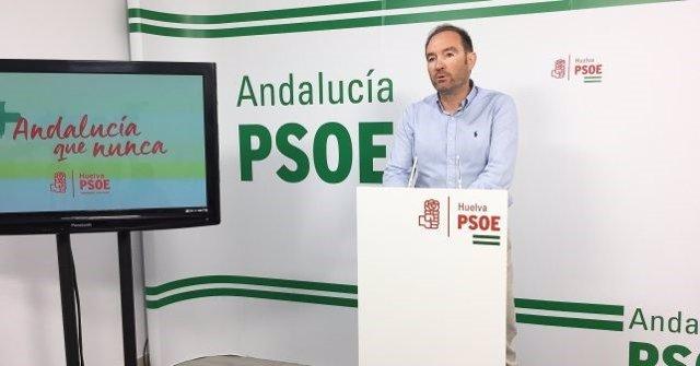 """Huelva.- PSOE urge al PP-A a tomar medidas contra su vicepresidente provincial """""""