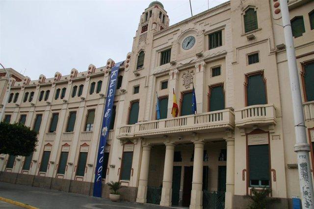 Palacio de la Asamblea de Melillla (Exterior sede del Gobierno de Melila)
