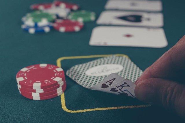 Póker, imagen de recurso