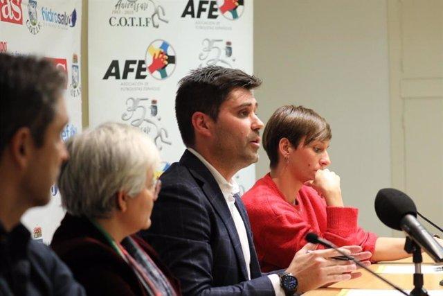 David Aganzo, presidente de la Asociación de Futbolistas Españoles (AFE).