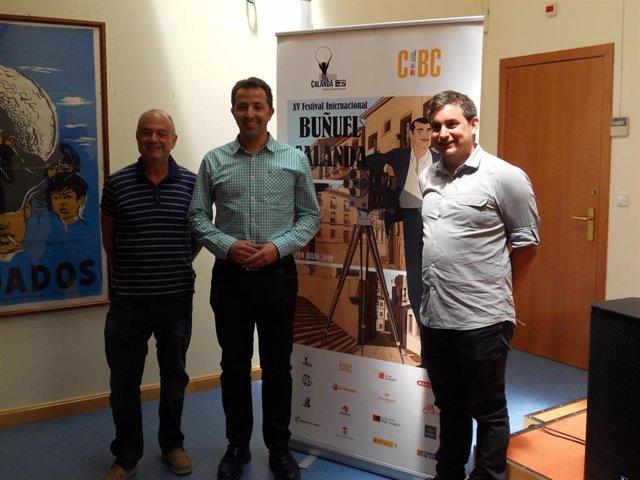 Foto de la presentación del Festival Internacional Buñuel Calanda este viernes en el Centro Buñuel Calanda (CBC).