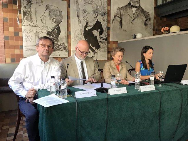 S.Halsey, J.Oller, M.Carulla i J.pi
