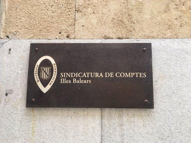 Seu de la Sindicatura de Comptes de Balears. Imatge d'arxiu.