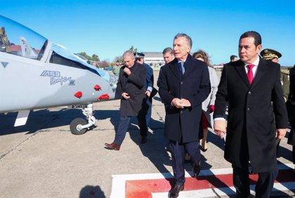 Un escándalo político en Guatemala por supuesto fraude suspende la compra de dos aviones a Argentina