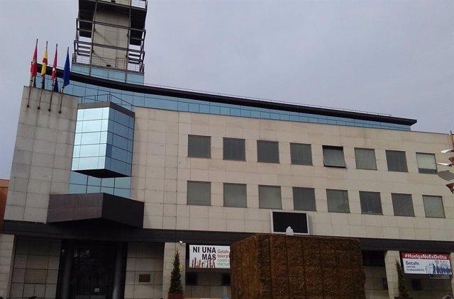 Foto de recurso de la fachada de la sede del Ayuntamiento de Getafe.
