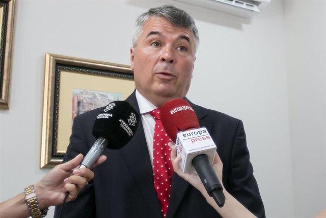 El letrado Agustín Martínez