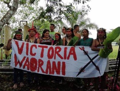 El pueblo Waorani pide respeto y llama a defender la selva de Ecuador contra explotación petrolera