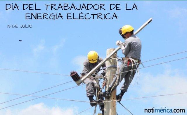 DÍA DEL TRABAJADOR DE LA ENERGÍA ELÉCTRICA