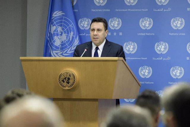Samuel Moncada, embajador de Venezuela ante la ONU