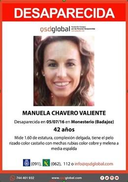 Búsqueda de Manuela Chavero