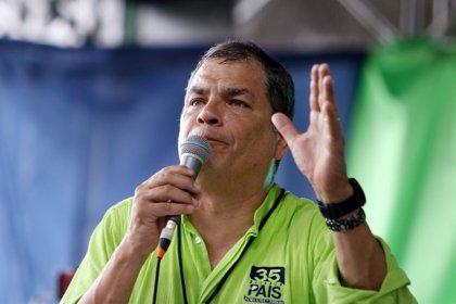 Investigan a Alianza País por financiación ilegal de las campañas del expresidente ecuatoriano Rafael Correa