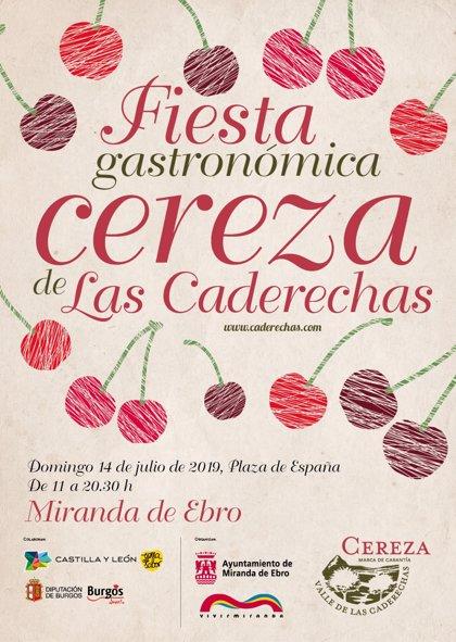 Cocina creativa con cerezas de las Caderechas en Miranda de Ebro