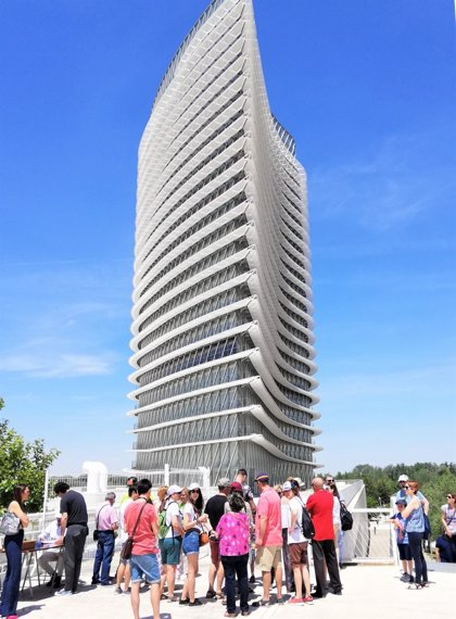 Más de 1.200 personas visitan la Torre del Agua en Zaragoza desde el 15 de junio