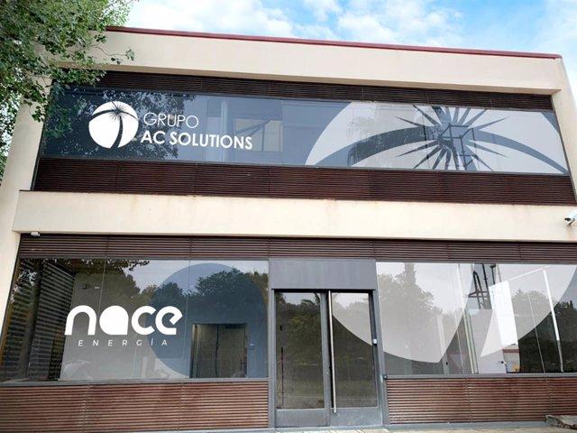 Seu del grup AC Solutions i de les seves firmes: Nace Energía, ACSol Energía, Nacexa.