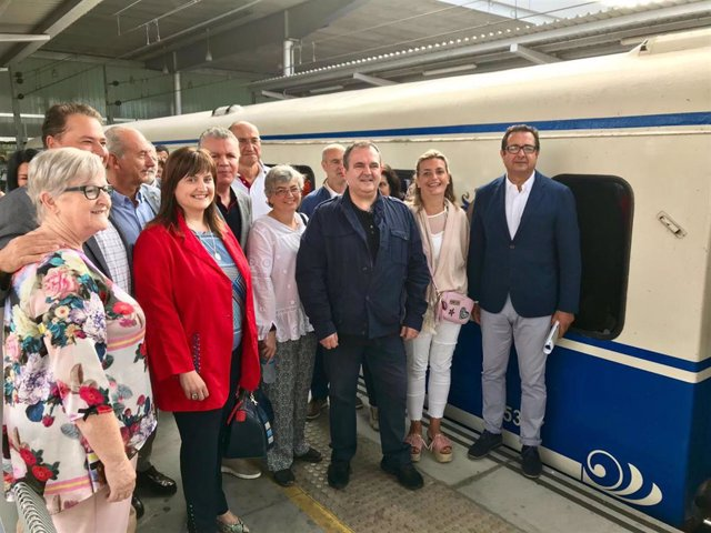 Inauguración del tren turístico