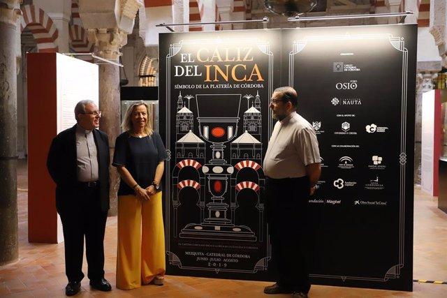La primera teniente de alcalde del Ayuntamiento de Córdoba y secretaria de Cs de Programas y Áreas Sectoriales, Isabel Albás, en la Mezquita Catedral