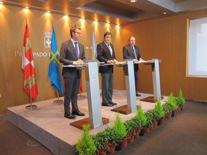 """Juan Vicente Herrera y Javier Fernández, Medallas de Oro de Galicia 2019 por """"la defensa de los intereses del noroeste"""""""