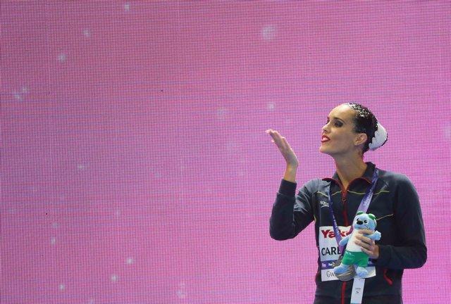 AMP.- Natación artística/Mundial.- Ona Carbonell, plata en la final de solo técnico