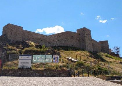 Obras de rehabilitación del Castillo de Aracena (Huelva) en el marco de Fortours superan el 50 por ciento de ejecución
