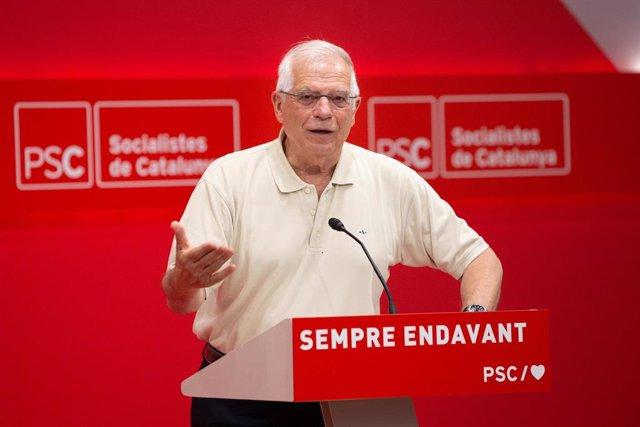 Josep Borrell en la Escuela de Verano del PSC