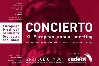 Concierto benéfico en favor de Cudeca de la Orquesta y Coro Europeo de Estudiantes de Medicina