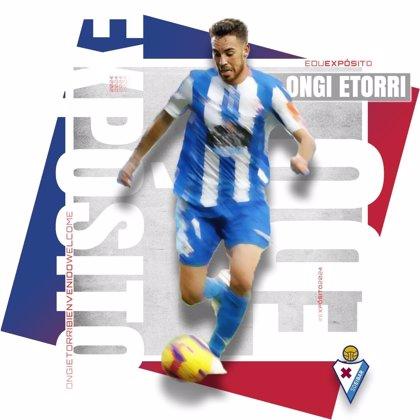 El centrocampista Edu Expósito abandona el Deportivo y ficha por el Eibar