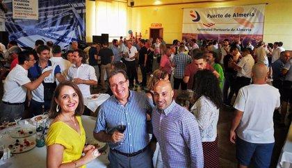 La Autoridad Portuaria de Almería celebra la festividad de su patrona en un encuentro en el Varadero