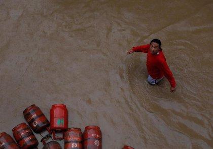 Ascienden a 30 los fallecidos por las lluvias monzónicas en Nepal