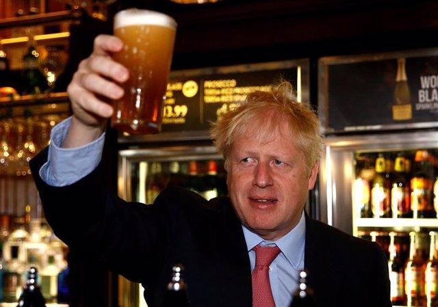 El candidato a primer ministro británico Boris Johnson