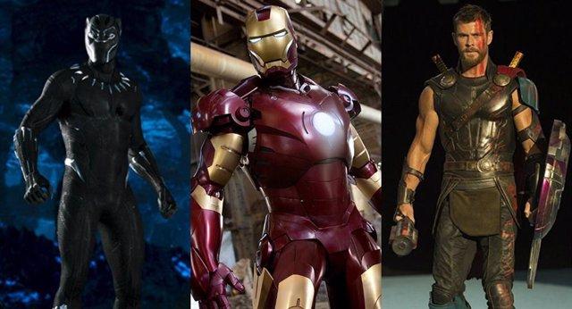 Películas Marvel en orden de taquilla