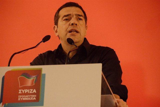El ex primer ministro griego, Alexis Tsipras