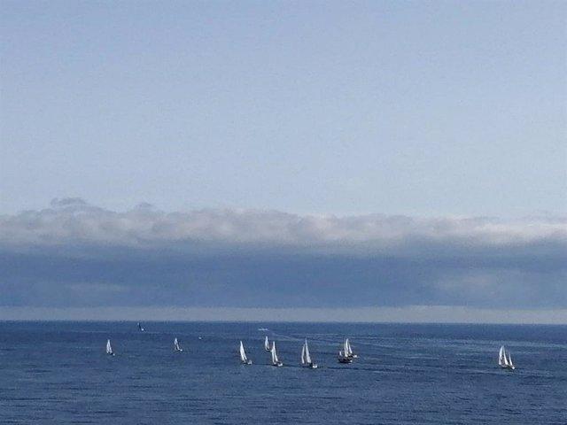 Embarcaciones participantes en la ruta 'Navega el camino'