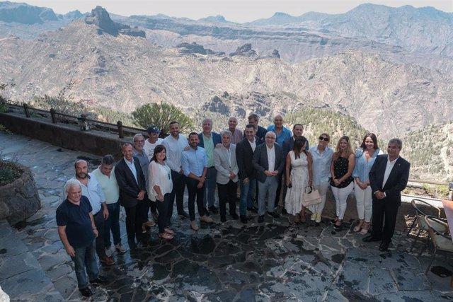 Inauguración del Centro de Interpretación de las Montañas Sagradas de Gran Canaria