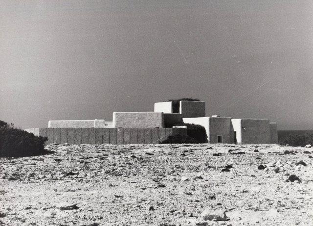 Imagen de una de las viviendas que el arquitecto Henri Quillé realizó en Formentera.