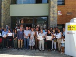 Chacón entrega la certificació de turisme familiar a cinc municipis de Lleida