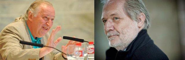 Fotomontaje de dos fotografías de Péter Csaba y Péter Etvs