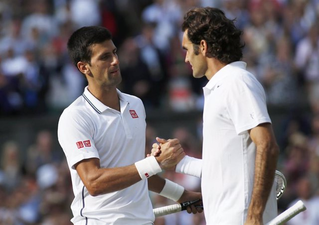 Djokovic y Federer chocan de nuevo en la final de Wimbledon
