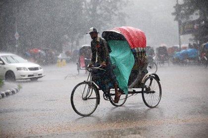 Al menos diez muertos por relámpagos en Bangladesh durante las lluvias monzónicas