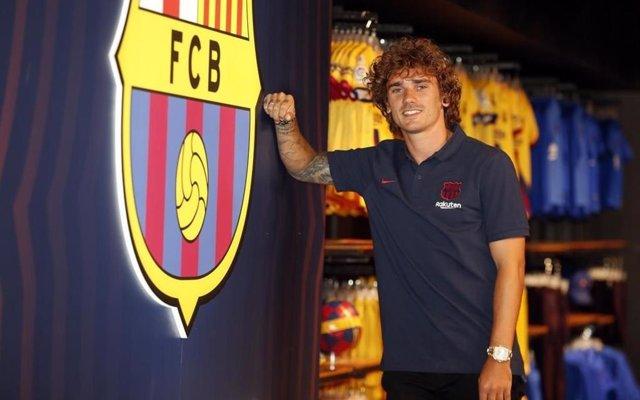 Griezmann, nuevo jugador del FC Barcelona