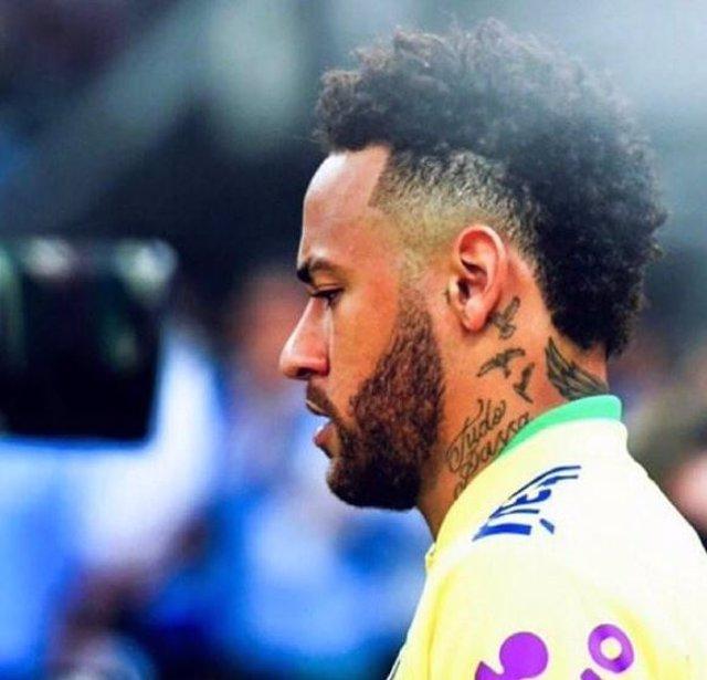 El brasileño Neymar da Silva Santos