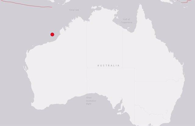 Terremoto al norte de Australia