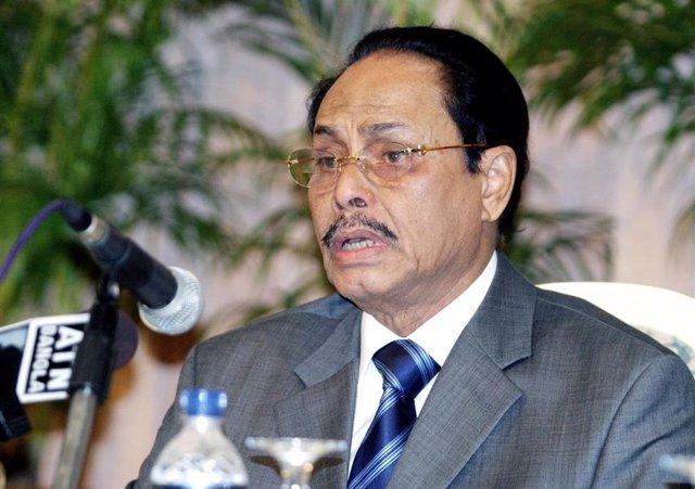 El exdictador de Bangladesh Hossain Mohammad Ershad