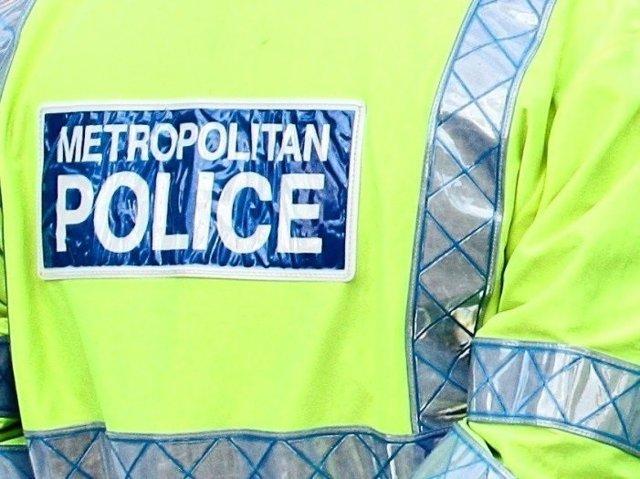 Chaleco reflectante de la Policía Metropolitana de Londres, Scotland Yard